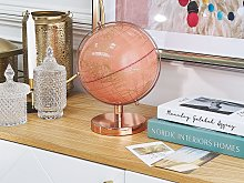 Decorative Globe Pink 20 cm Modern