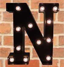 Decorative LED Illuminated Letter Marquee Sign -