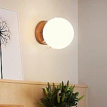 Decorative Moon Wall Lamp Glass Ball Nordic Hotel