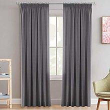 Decorative Pencil Pleat Blackout Curtains for Boys