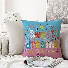 Decorative Pillowcase Throw Pillow Cushion