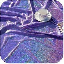 Decorative Quilting Fabric, Cheap Glitter Laser