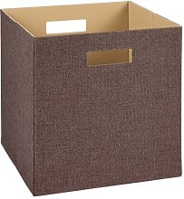 Decorative Storage Fabric Basket Closetmaid
