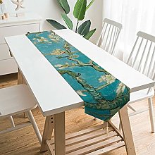 Decorative Table Runner Placemat Van Gogh, Almond
