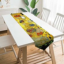 Decorative Table Runner Placemat Vintage The Kiss