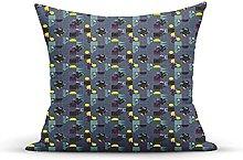 Decorative Throw Pillow Cover Case,Disorganized