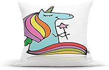 Decorative Throw Pillow Cover Case,Doodle Drawing