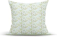 Decorative Throw Pillow Cover Case,Doodle Summer