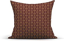 Decorative Throw Pillow Cover Case,Dotted Pattern