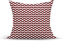 Decorative Throw Pillow Cover Case,Lines with