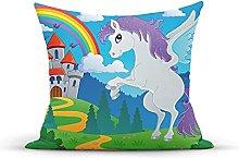 Decorative Throw Pillow Cover Case Vintage,Fantasy
