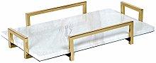Decorative Trays Modern Elegant Rectangle Marble