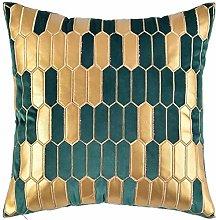 Decorative Velvet Bed Throw Pillow Case PU