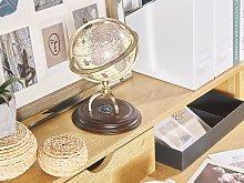 Decorative Vintage Globe Beige 16 cm Traditional