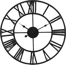 Decorative Wall Clock, European Retro Clock with