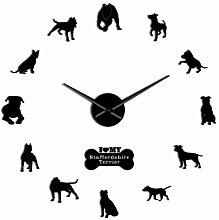 Decorative Wall Watch Staffordshire Bull Terrier
