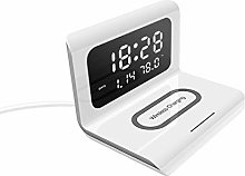 Decorative Wireless Charger Alarm Clocks Wireless