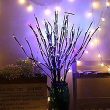 Deeabo LED Lighted Twig Branches, Battery Operated