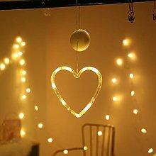Deeabo Window Sucker Holiday Lamp, LED Flashing