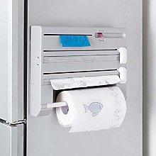 DEEM Kitchen Roll Dispenser, Mounted Holder for