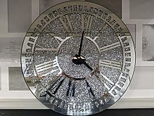 DEENZ 40CM Wall Clock Large Round Luxury Loose