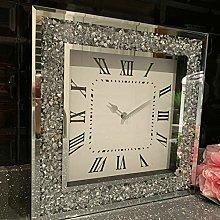 DEENZ Extra Large Loose Diamante Wall Clock