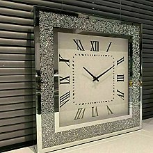 DEENZ Loose Diamante Wall Clock Elegant Diamond