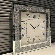 DEENZ Loose Diamante Wall Clock Elegant Luxury