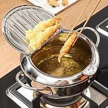 Deep Fat Fryer with Thermometer+Stainless Steel