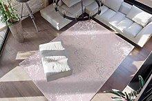 Deep-Pile Bedroom Rug Soft Fluffy Plain Taupe