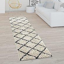 Deep-Pile Rug, Shaggy For Living Room, Scandi