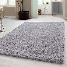 Deep-pile shaggy rug for living rooms, dining