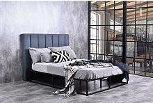 Deephaven Metal Kingsize (5') Upholstered Bed