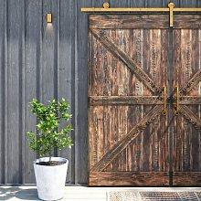 Deephaven Solid Wood Pine Sliding Door Union