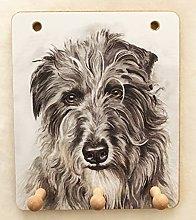 Deerhound Dog Lover Gift - UK Artist Christine