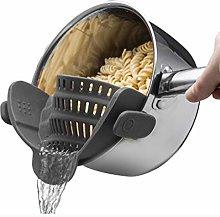DEF Spaghetti Colander, Silicone Strainer, Filter