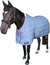 DefenceX System Horse Stable Rug (5´) (Grey/Berry