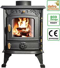 Defra Approved 4.2kw Cast Iron Wood Log Burner