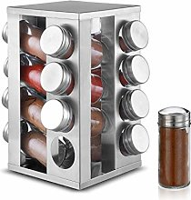 DEFWAY Spice Racks Free Standing - Revolving