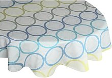 Deguzman Tablecloth Brayden Studio Colour: Blue