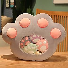 Dehcye 40 * 50cm Cat Paws Plush Toy Stuffed