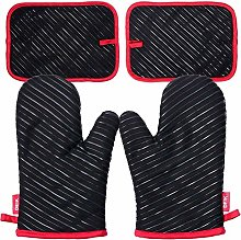 Deik Oven Glove, Oven Mitts and Potholders,