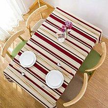Deirdre Agnes Tablecloth Modern Striped Dining