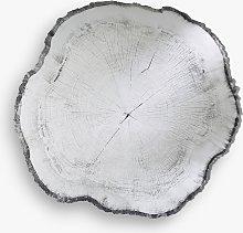 Deknudt Mirrors Arbo Tree Rings Print Wall Mirror,
