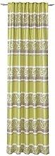 Deko Trends Elpaso Curtain with Tab-Top Strip,