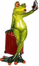 dekojohnson Funny Decorative Frog Woman with Case
