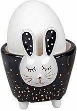 dekojohnson Funny egg cup with rabbit motif, egg