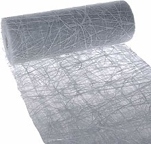 Dekoweb 54-300-15-080+H Table Runner Grey 30 cm