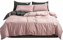 Delaman Bedding Kit, 4Pcs/Set Cotton Household