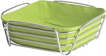 Delara Steel Wire Bread Basket in Chrome Blomus